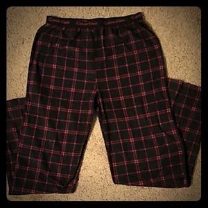 NWOT Calvin Klein Boys 14/16 sleep pants